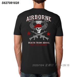 2020 New Summer Cool-T-Shirt Dead Or Alive Kleidung Airborne Armee 173rd Airborne Cotton Besatzung Kurzarmhemd lustige T-Shirt 543510
