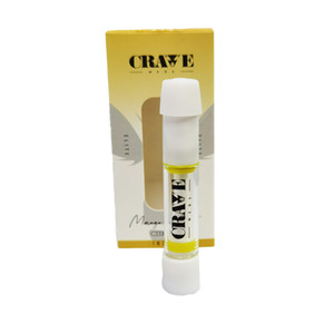 Pre-filled portable vaporizer cartridge Cravemeds Crave cartridge vape cartridges vape pen Crave Meds