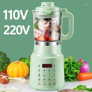 110V / 220V SOYMILK Machine Soy Maker Maker Soya-Bean Milk Juicer électrique Blender Rice Coller Maker Filtrer sans filtre 800ml1