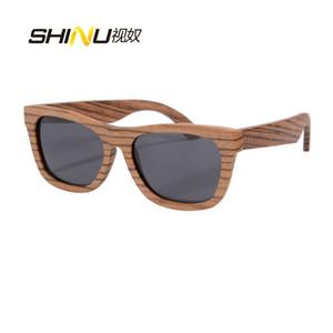Men's Wooden Polarized Sun Glasses Zebra Pear Red Sandal Wood Sunglasses For Women And Men Goggle