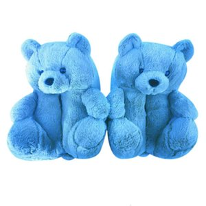 blue slippers Teddy bear all inclusive new