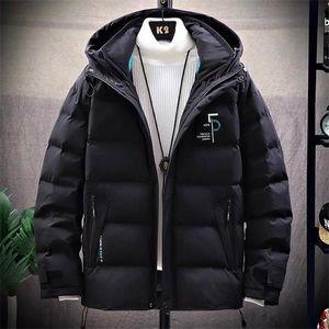RN8EHot Sale Men Winter Down Jacket luxury Feather Hooded 2020 Winter Jacket Coat Windproof fear of god true religions Men's