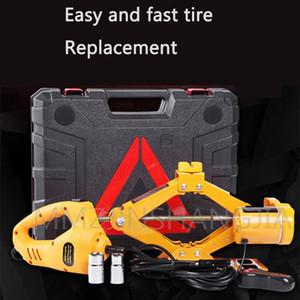 Cambio idraulico elementi elettrici 12v chiave attrezzo elettrico Jack Cric Car Service strumento rapido pneumatici facile da trasportare