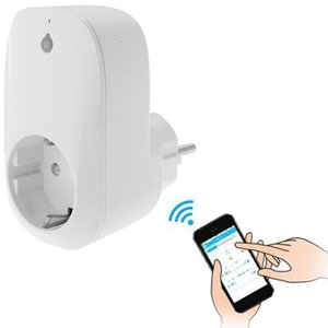Aplicación gratuita portátil Wi-Fi Inicio Oficinas de Inicio Automatización Smart Wireless Power WiFi Enchufe Enchufe de la UE