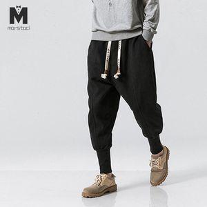 Marstaci 겨울 바지 남성 2020 Mens Harajuku 발목 밴딩 조깅자 바지 남성 streetwear 두꺼운 중국 스타일 스웨트 팬츠 5XL1