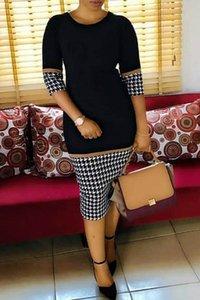 새로운 디지털 캐주얼 무지 승 인쇄 바느질 LZ-771 새로운 여성의 드레스 dressDigital Dressfashion 캐주얼 무지를 인쇄 바느질