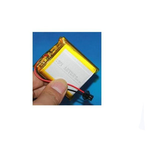 Free ship 1pcs 125054 3.7v 4000mah toy car battery lithium ion polymer rechargeable battery