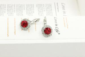 Earrings Silver plated Jewelry Elegant Drop Earrings Austrian Crystal Earrings