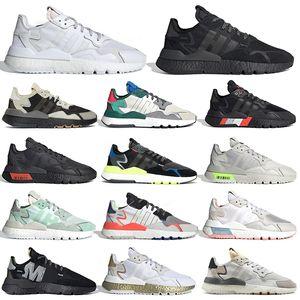 adidas nite jogger mujer hombre zapatillas reflectantes Xeno gris Seis voltios Hi Res zapatillas deportivas para hombre zapatillas deportivas para caminar trotar