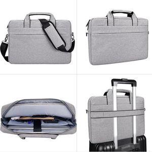 "15.6""17""Laptop Shoulder Bag Large Capacity Waterproof HandBag 17.3inch For ASUS Macbook Dell Acer Lenovo Notebook Bags Women Men 201006"