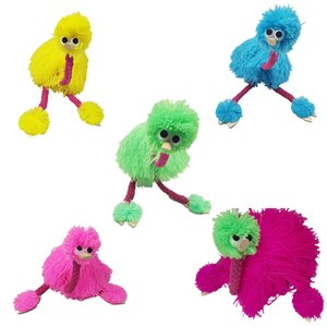 36cm 14inch Decompression Toy Marionette Doll Muppets Animal muppet hand puppets toys plush ostrich Marionette doll for baby 5 colors Z1096