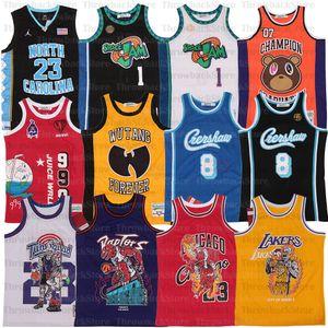 WRLD JUICE # 999 LÍRICO LEMONADE Album graduação Wu Tang 7 Crenshaw Bryant Kanye West Tampa Basketball Hip Hop Rap Jerseys