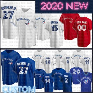 2020 New Vladimir Guerrero Jr. Individuelle George Bell Baseball Jersey Joe Carter Roberto Alomar Justin Smoak Jack Morris Russell Martin Martin