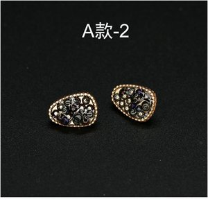 6pcs 11mm Shirt Pearl Female Vintage Bead Rhinestones Metal Gold Button For Clothing Clothes Decorative Skirt Sewing Acc bbyFAp