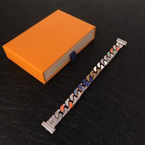 Mais novo parafuso de aço inoxidável parafusos chave de fenda diamante mulheres mulheres pulseiras pulseira com caixa original