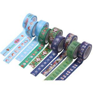 2019 Christmas Tape Gift Wrap Tape Adhesive Gift Wrapping Cartoon Diy Decorative Paste Santa Claus Japan And Paper Lashing Band