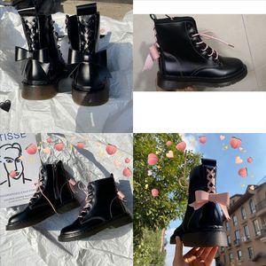 Xgovr Top QualityBottes Boots Stivali da donna Laureate Dimensioni Womens Black Real Medal Stivali Cuoio Leather Grouse antiscivolo Scarpe invernali di alta qualità di alta qualità
