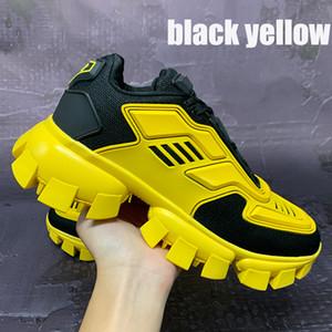 Yeni Yüksek Kalite Cloudbust Thunder Sneaker Rahat Ayakkabılar Erkekler Üçlü Siyah Beyaz Sarı Moda Açık Erkek Sneakers Eğitmen Euro 40-46