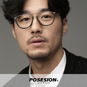 POSESION Vintage Optical Eyeglasses Frame Men Retro Computer Glasses Spectacle Frame For Clear Lens Male Oculos Eyewear PS5051