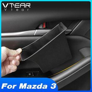 Vtear For 3 2020 2020 Accessories Car Door Storage Box Container Front Rear Doors Organizer Car Interior Modification