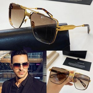 Top men eyewear car fashion designer sunglasses top outdoor uv400 sunglasses square full frame come with case THE DAWN top quality