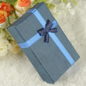 Wholesale-Multi-Color 8 X 5 X 2.5cm Jewelry Ring Earring Watch Necklace Small Large Carton Present Suqare Gift Box Case1