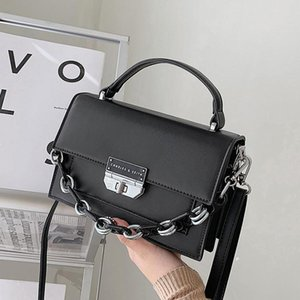 Crossbody Bags For Women 2021 Fashion Chain Flap Handbag Luxury Designer Leather Shoulder Messenger Bags Casual Small Square Bag
