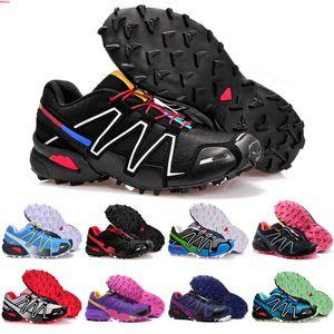 2020 Speedcross 4 IV CS Trail Running Shoes Mens Women Purple Pink Speed Cross Outdoor Hiking Athletic Sports Sneakers 36-39