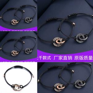 T3ie Student Study Mood Bracelet Fashion Perle Couleur Création Charm Bralet Changer de Pandora Bracelet Émotion Chaud