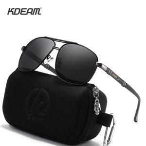 Logo Magnezyum Polarize Güneş Gözlüğü Açık Gözlük Kendi UV400 Özelleştirilmiş Lüks Meydanı Gözlükleriniz Mens Kdeam ve Alüminyum Udbil Bdega Fabl