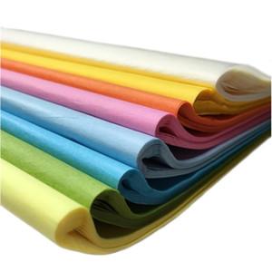 50 Sabas / Bolsa DIY Material 50 * 50 cm Papel de tejido Papel de envolver floral Decoración del hogar Fiesta Fiesta Packagi Jllaeoo