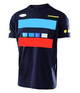 Yaz Yeni Moto Motosiklet Off-Road Sürme T-shirt Hayranları Rahat Kısa Kollu Yarış T-Shirt Erkekler Ve Kadınlar Downhill Jersey