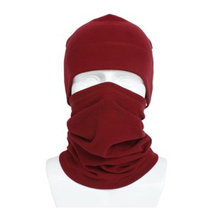 Hat And Scarf Set Cycling Face Mask Rabbit Wool Winter Warm Wrap Neck Ring For Men And Women Sport Hats wmtcjA new_dhbest