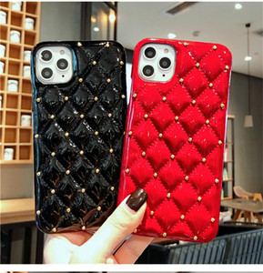 luxury phone case coque iphone 12 pro case Glitter Leather iPhone 11 pro mac Shockproof Bumper Cover iPhone x xr xs max Mobile Fundas Capas