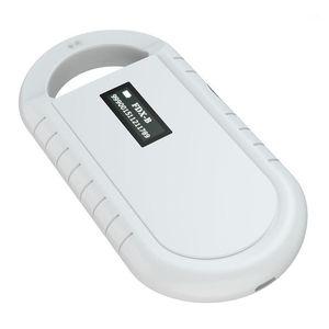 RFID Reader Microchip Scanner Handheld Animal Chip Reader Portable RFID soporta para ISO 11784/11785, FDX-B1