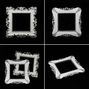 New Fashion Creative Resin Single Light Switch Surround Socket Finger Plate Panel Cover Home Decoration Wall Sticker Hot Sell