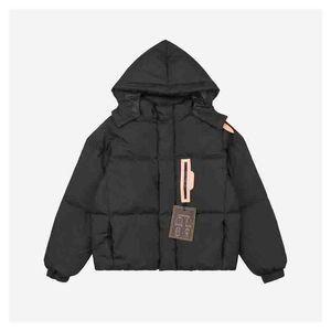 Women Parka Winter Fashion Womens White Duck Down Warm Parkas Jacket Casual Hooded Spliced Pockets Windbreaker Coat 2 Colors