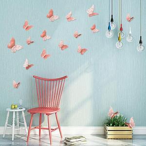 جدار الجوف فراشة الفن نقي اللون نوم غرفة المعيشة ديكور المنزل الاطفال diy الديكور المعادن اللوحة WY304Q
