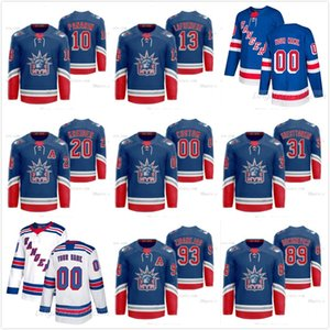 13 Alexis Lafreniere NY Rangers Classic Edition Liberty Home Away Jersey Artemi Panarin Kaapo Kakko Buchnevich Zibanejad Cualquier Nombre Número