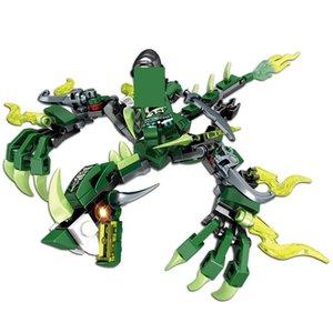 Ninjago Cavaliere insiemi delle particelle elementari Brinquedos Creatore Figure Mattoni fai da te Educational giocattoli per i bambini qyljiW mywjqq