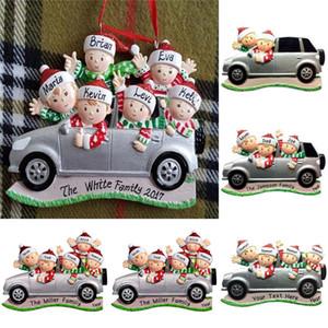 Süsleme Noel Parti Süsleri kolye T9I00686 Asma 2020 küçük araba kolye DIY Adı Benediction Noel Ağacı