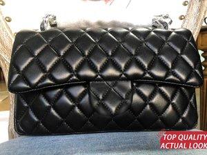 Высококачественные классические клапаны CF CF канал женские сумки роскоши дизайнеры сумки скрещенные сумки аэйнбсская икра CC сумка цепь сумки сумки Maxi