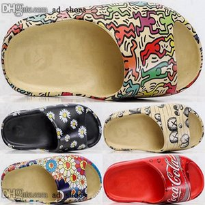 46 slides women foam runner chaussures eur mens girls 35 casual shoes size us kanye slipper designer sandals west sandalias men clog 5 12