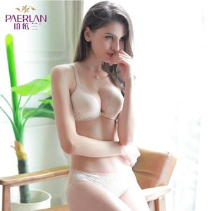 PAERLAN Seksi Kadın İç Giyim Dantel Yan Cephe Toka Tel Ücretsiz Bra Yeni Küçük Göğüs Toplanan Kalın Yelek Stili