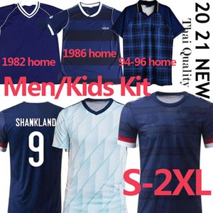 New Scotland Soccer Jerseys 2020 2021 Robertson Fraser Camicia da calcio Set Naismith McGregor Christie Forrest McGinn Uomini Bambini Uniforme