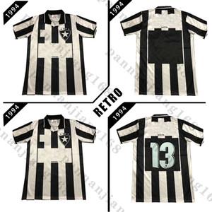 Botafogo de Futebol E Regatas 1994 Black Retro Soccer Jersey 94 Botafogo # 13 Chemise de football classique Vintage Vintage