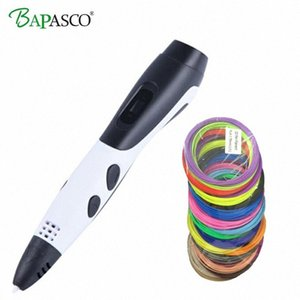 New Arrival 3D Printing Pen With PLA Plastic Refill 3 D Printer Drawing Pens 3D DIY Perfect Gift for Kids & Adults3D Drawing Pen KGIE#