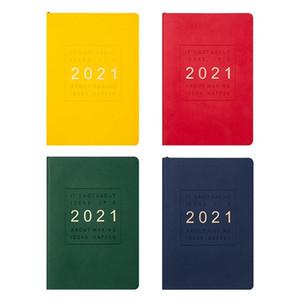 2021 Planner Agenda Organizer Дневник Еженедельно Ежемесячно ноутбук и A5 Журнал 365 день План Примечание Книга Назад в школу Руководство путешествий