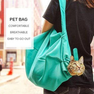 Hot 2pcs Outdoor Cat Foldable Carrier Bags Pet BagBackpack Out Carrier Bags Breathable Portable Cat Transport Tote Pet Safety1