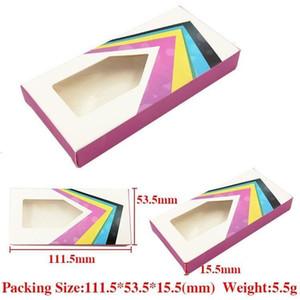 Eyelash Case False Eyelashes Paper Box whosale Cover Cosmetics empty Eye Lashes Package Boxes